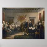 Firma de la Declaración de Independencia Posters