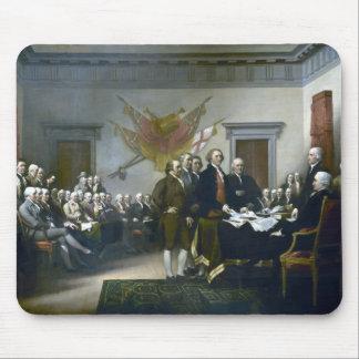Firma de la Declaración de Independencia Tapete De Ratones