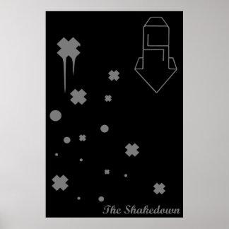 Firma de los ladrones del Shakedown Poster