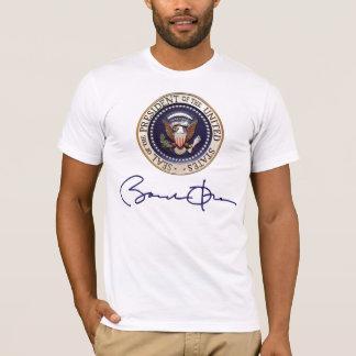 Firma de presidente Barack Obama Playera