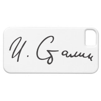 Firma de primero ministro Joseph Stalin de Unión Funda Para iPhone SE/5/5s