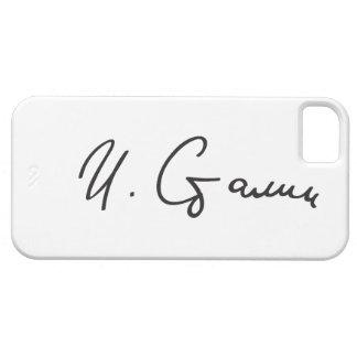 Firma de primero ministro Joseph Stalin de Unión iPhone 5 Carcasas