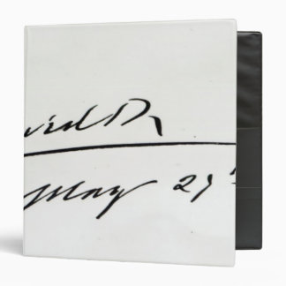 """Firma de rey Edward VII, el 29 de mayo de 1906 Carpeta 1 1/2"""""""