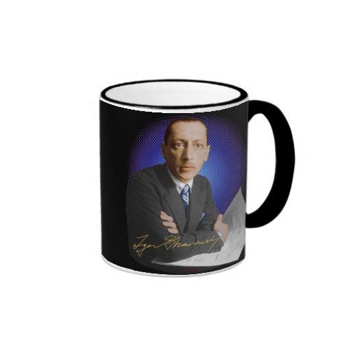 Firma de Stravinsky Tazas De Café