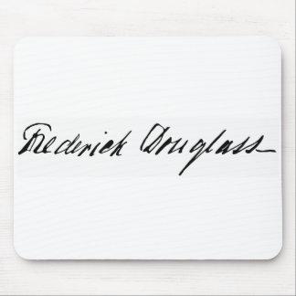 Firma del abolicionista Frederick Douglass Tapete De Ratón