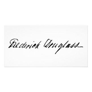 Firma del abolicionista Frederick Douglass Tarjeta Fotografica