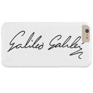 Firma del astrónomo Galileo Galilei Funda De iPhone 6 Plus Barely There