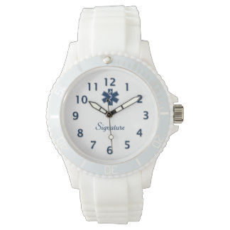 Firma del paramédico EMT el ccsme Relojes De Mano