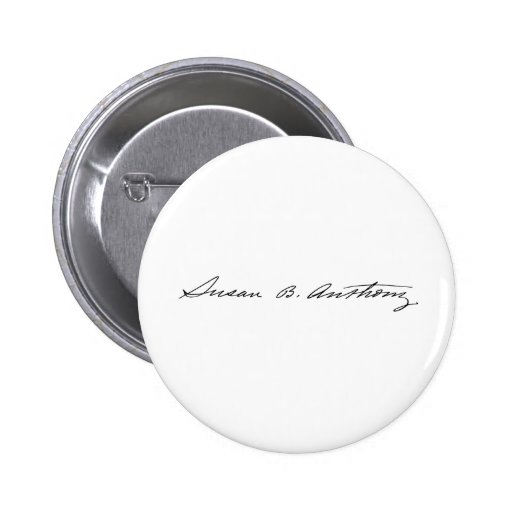Firma del Suffragette Susan B. Anthony Pins