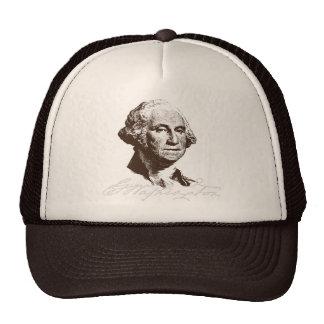 Firma George Washington Gorras De Camionero