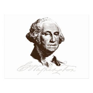 Firma George Washington Tarjetas Postales