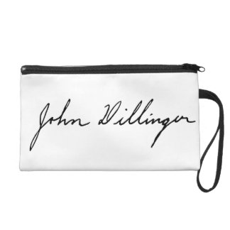 Firma manuscrita de John Dillinger
