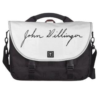 Firma manuscrita de John Dillinger Bolsas De Portátil