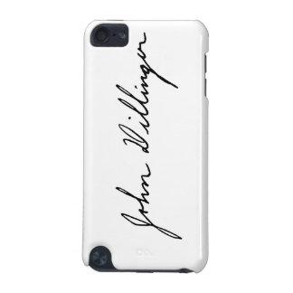 Firma manuscrita de John Dillinger Funda Para iPod Touch 5G