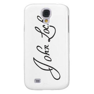 Firma manuscrita de John Locke Funda Para Galaxy S4