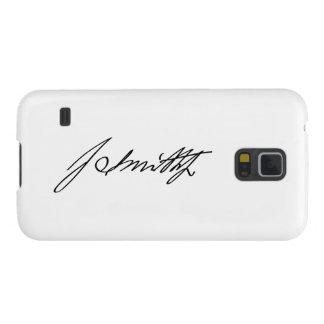Firma manuscrita del profeta mormón Joseph Smith Carcasas Para Galaxy S5