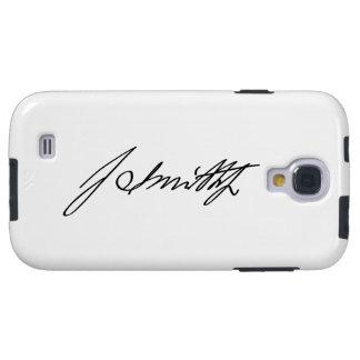 Firma manuscrita del profeta mormón Joseph Smith Funda Para Galaxy S4