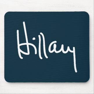 Firma Mousepad de Hillary