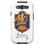 Firma y escudo de armas de Ana Bolena Samsung Galaxy S3 Carcasa