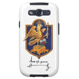 Firma y escudo de armas de Ana Bolena Galaxy S3 Cobertura