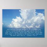 Firmamento, 1:14 de la génesis del cielo azul - im poster