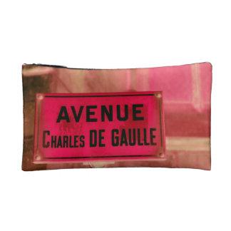 Firme en francés de la placa de calle de París