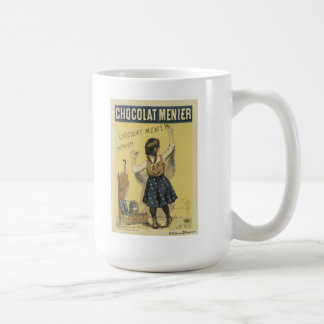 Firmin Bouisset - Chocolat Menier White Mug