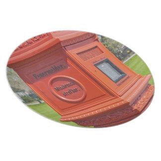Firre Alarm Box Plate