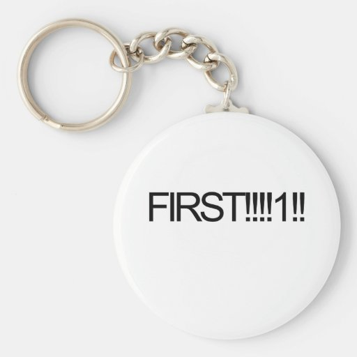 Firsat!!!!1! internet parody key chain