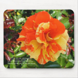 First 4 Lines of Sonnet # 11 by Shakespeare Mouse Pad