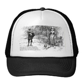 First 4 Lines of Sonnet # 11 by Shakespeare Trucker Hat