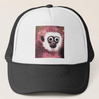First a little monkey business trucker hat