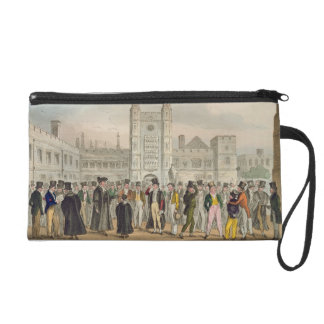 First Absence, or Etonians Answering Morning Maste Wristlet Clutches
