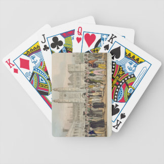 First Absence, or Etonians Answering Morning Maste Bicycle Playing Cards