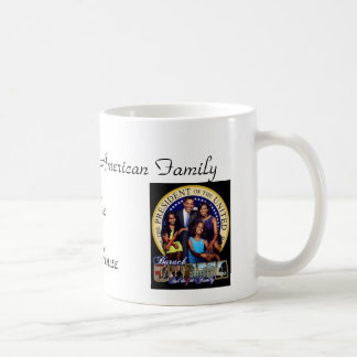 First African American Family Classic White Coffee Mug