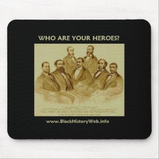 First African American Senator & Congressmen Mouse Pad