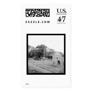 First African Church in Richmond, VA 1865 Postage