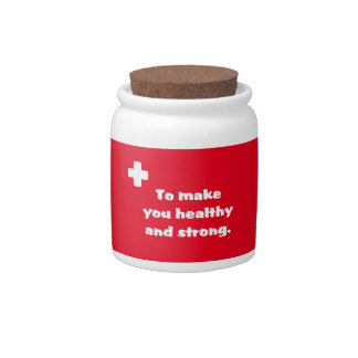 First Aid Candy Jars