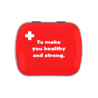 First Aid Candy Tins