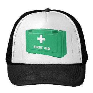 First aid kit design trucker hat