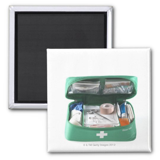 First aid kit. magnet