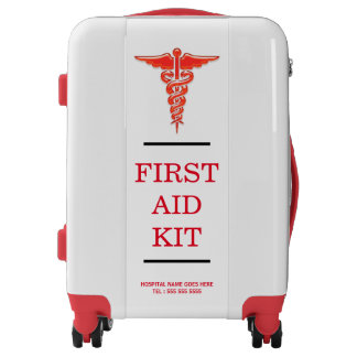First aid medical kit PERSONALIZE Luggage