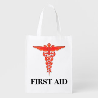 First aid medical professionals | Personalize Reusable Grocery Bags