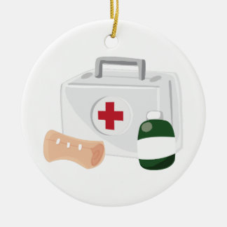 First Aid Christmas Ornament