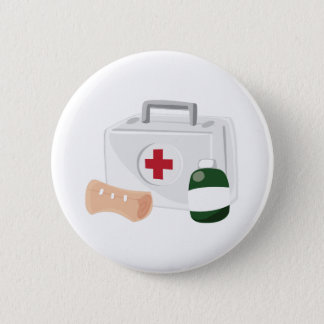 First Aid Pinback Button