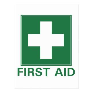 First Aid Postcard