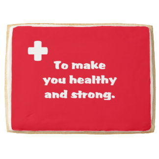 First Aid Shortbread Cookie