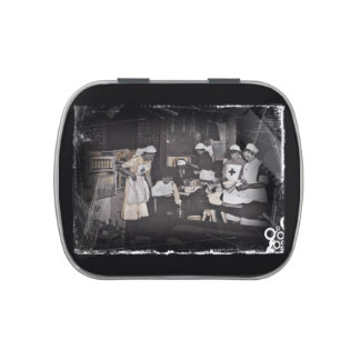 First Aid Station Nurses WWI Candy Tin