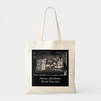 First Aid Station Nurses WWI Tote Bag