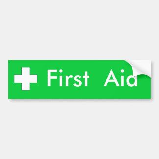 First Aid Stickers | Zazzle